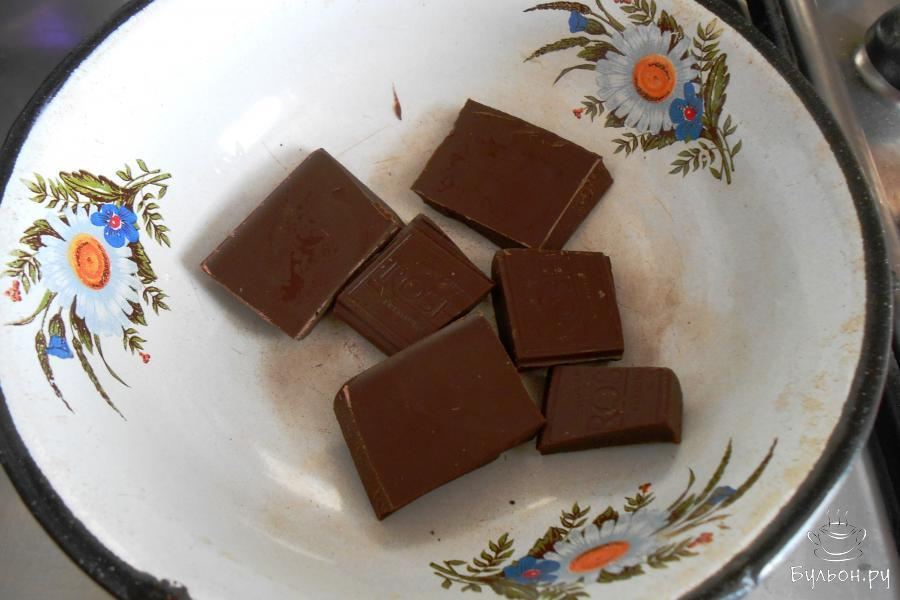 А пока растопим шоколад любым способом.