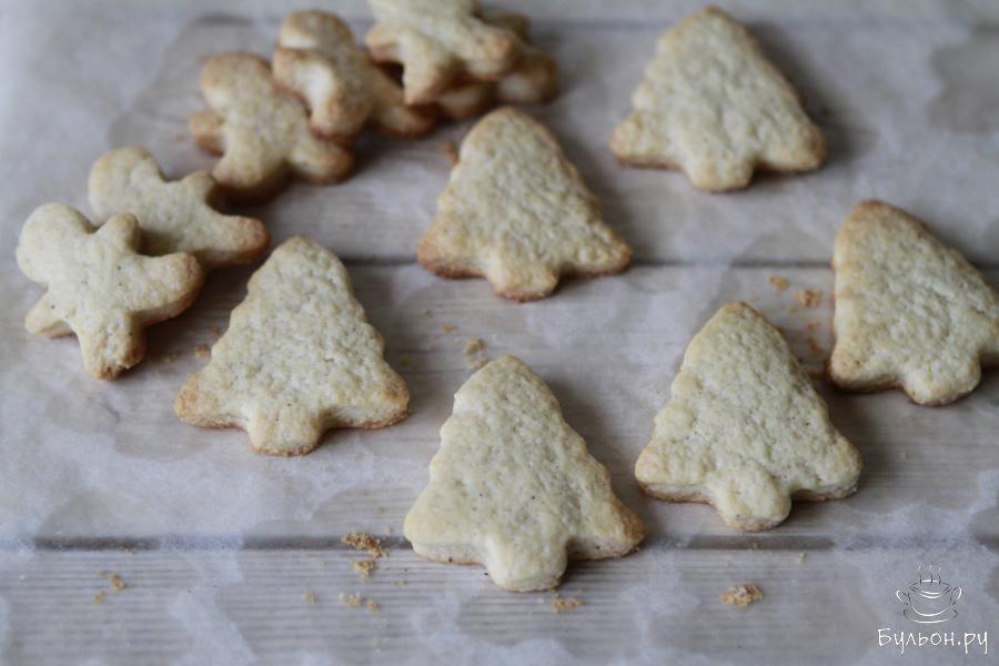 Выпекать 15 минут при 180 градусах. Готовое печенье остудить на решетке.