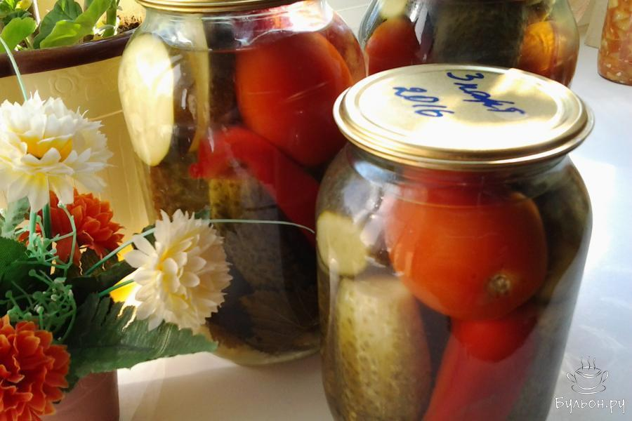 овощное ассорти на зиму рецепты и фото открытки