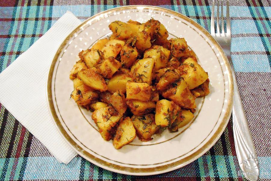 Картофель эскалоп рецепт с фото