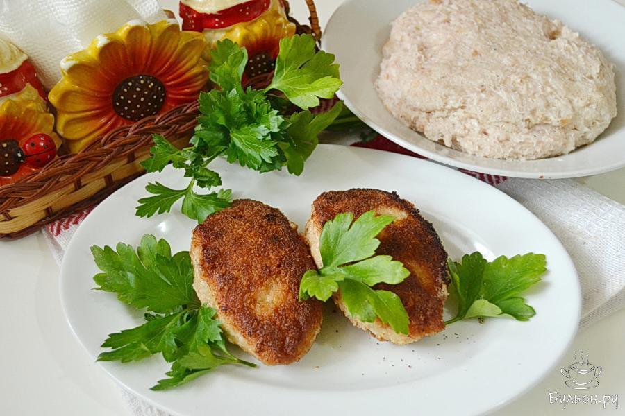 Блюда из свино куриного фарша рецепт