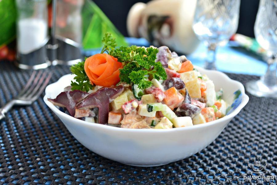 нравилась одна рыбные салаты с фото и рецептами ясен-вместо