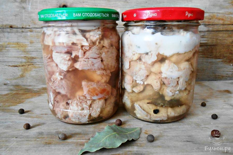 Тушёнка домашняя из говядины рецепт пошагово