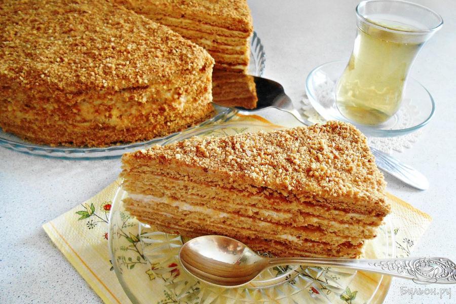 торт идеал медовый фото
