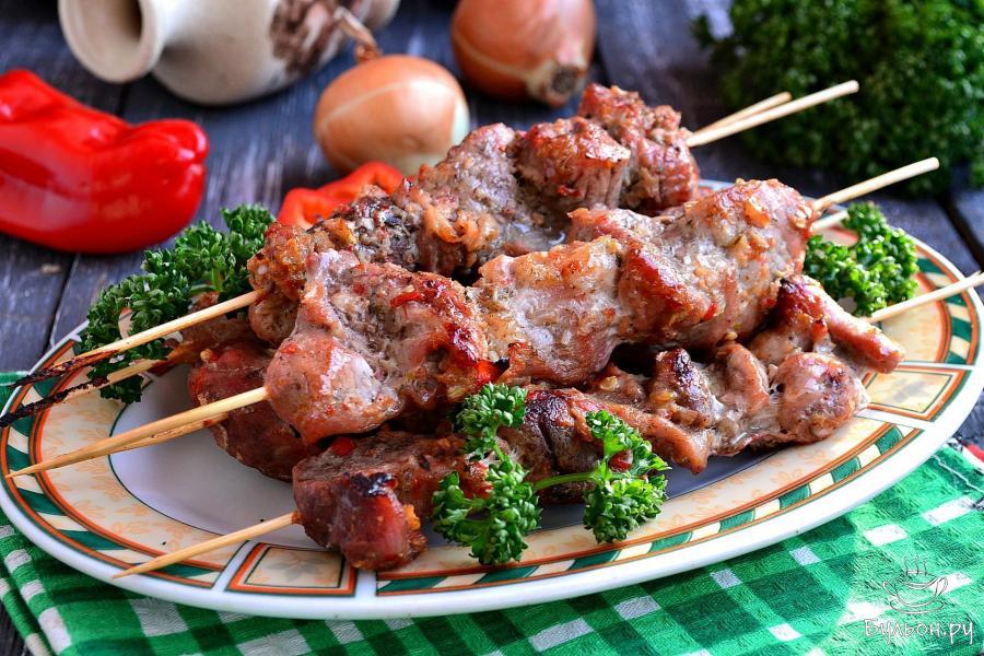 Шашлык из свинины рецепты с фото