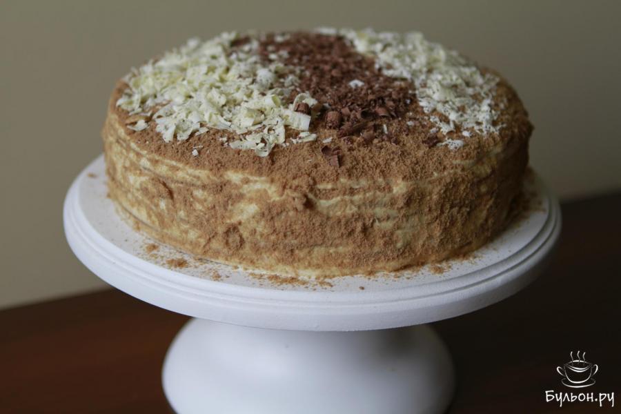 Рецепт медовика торта пошагово с