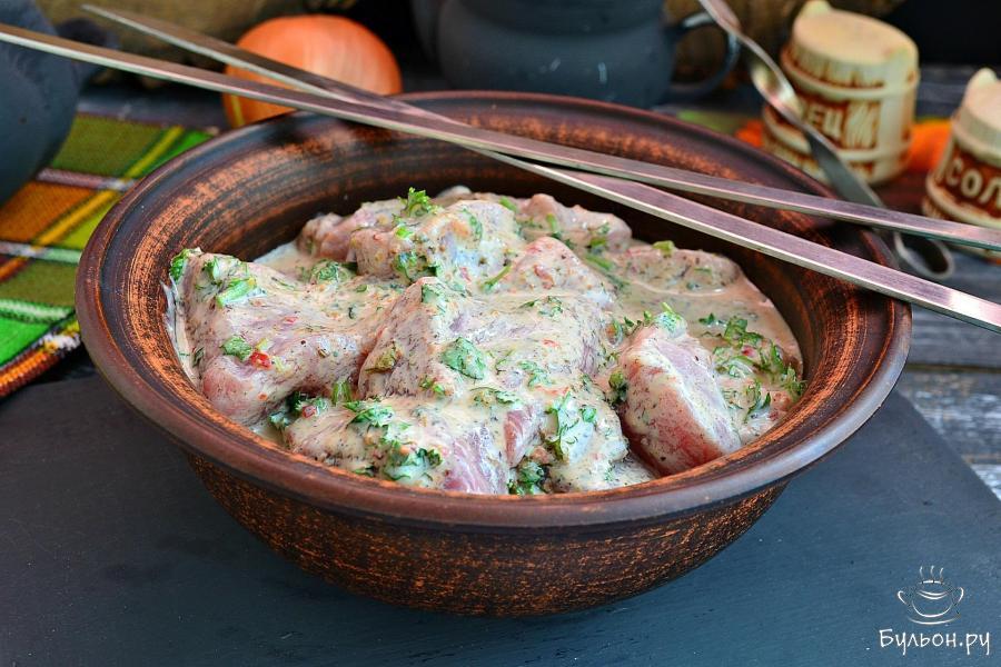 Грузинский маринад для шашлыка из свинины