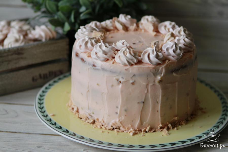 Торт с кремом чиз рецепт для ребенка