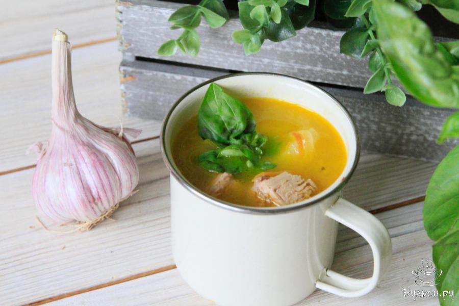 Рецепт рыбного супа из консервированного тунца