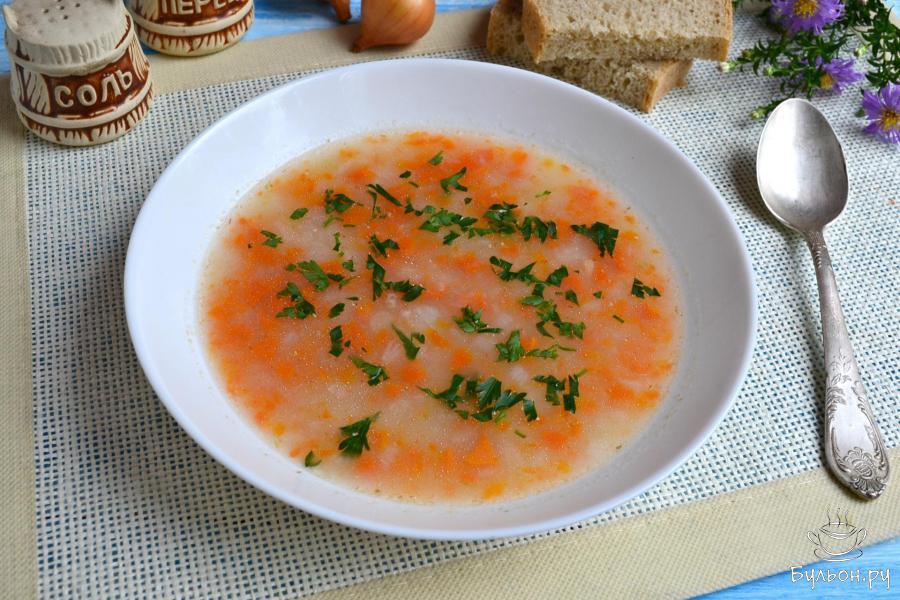 Диетический овощной суп с овсянкой