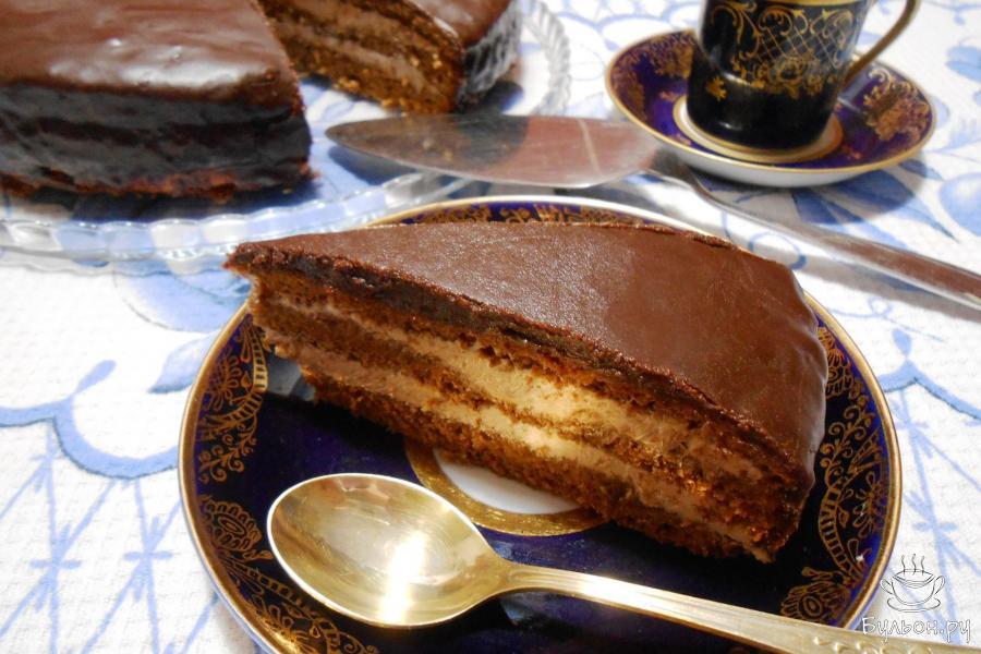 Вкусный домашний торт прага в домашних условиях 869