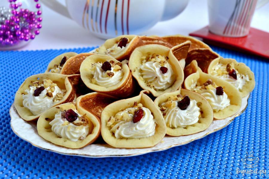 блинчики с начинками рецепт с пошагово