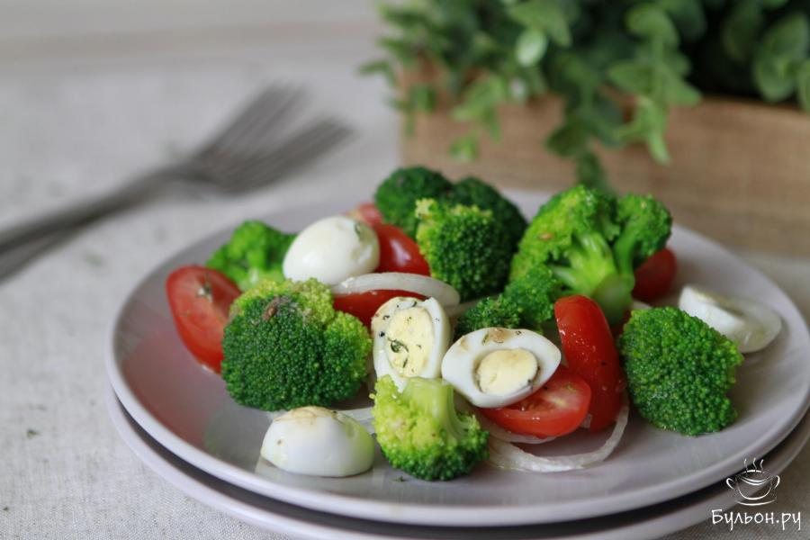 Салаты диетические рецепты с яйцом