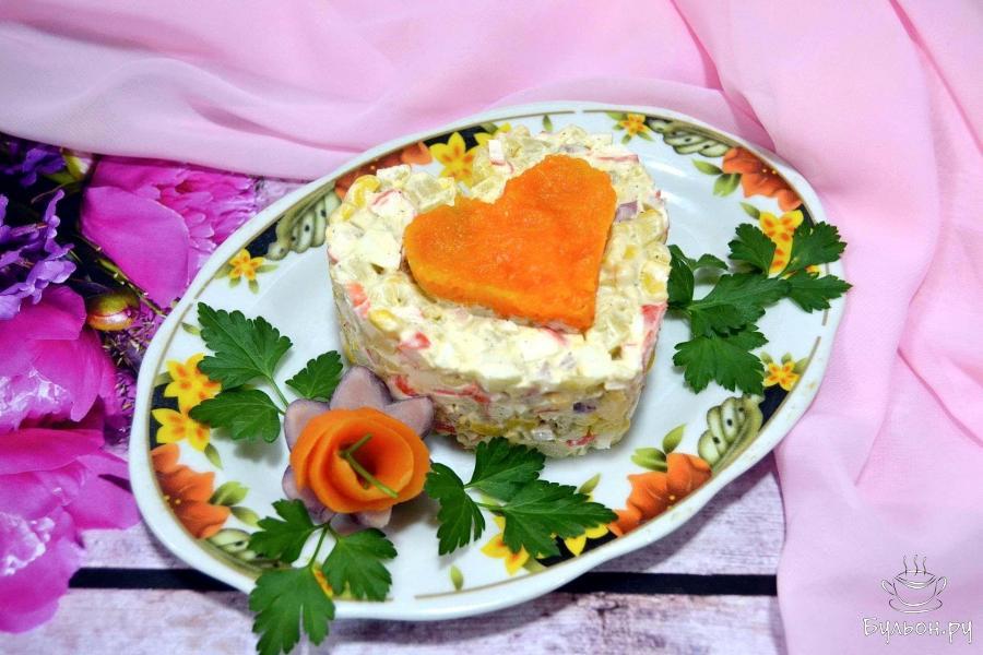 Рецепты салатов на каждый день пошагово 104