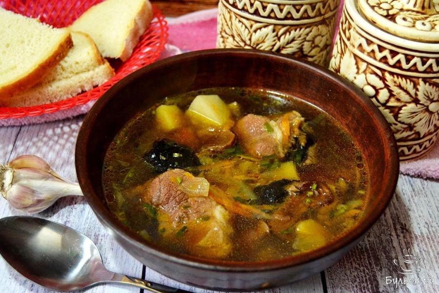 Суп грибной с вермишелью рецепт с фото пошагово 71
