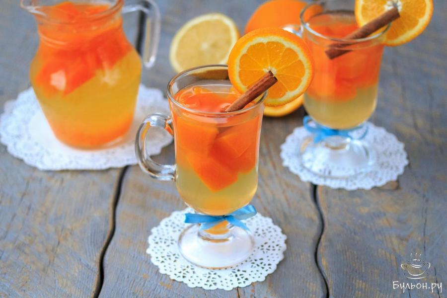 это только апельсиновый компот рецепт с фото или