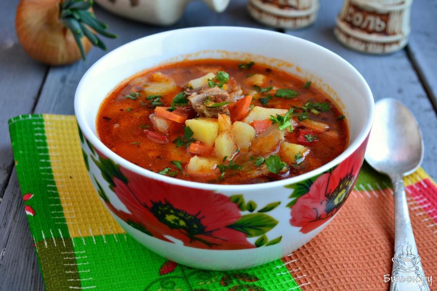 Рецепт супа с перловкой на говяжьем бульоне