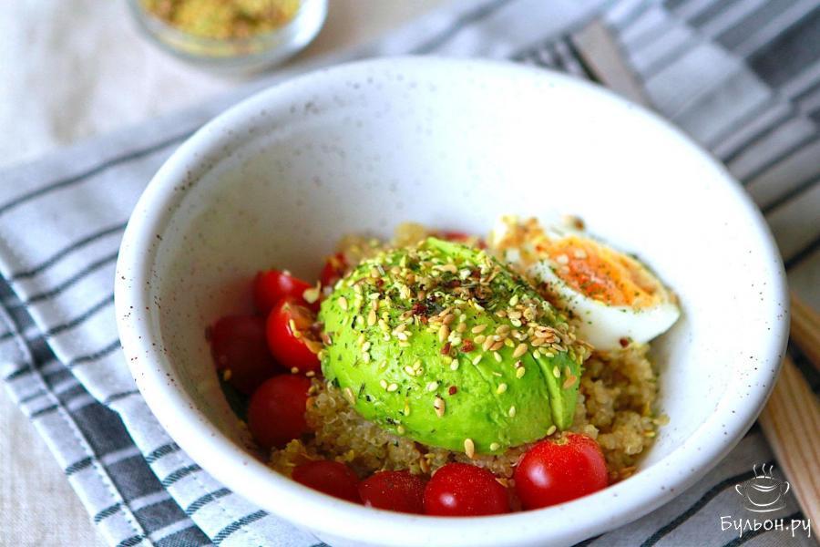 салат с киноа и авокадо рецепт пошагово фото отзывы