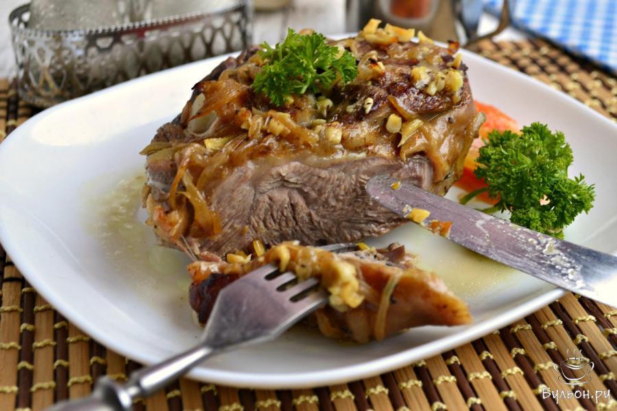 стейк из индейки голень как готовить