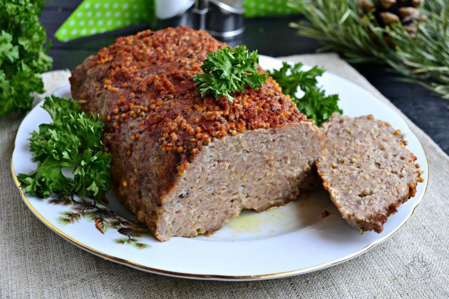 Мясной хлеб в духовке