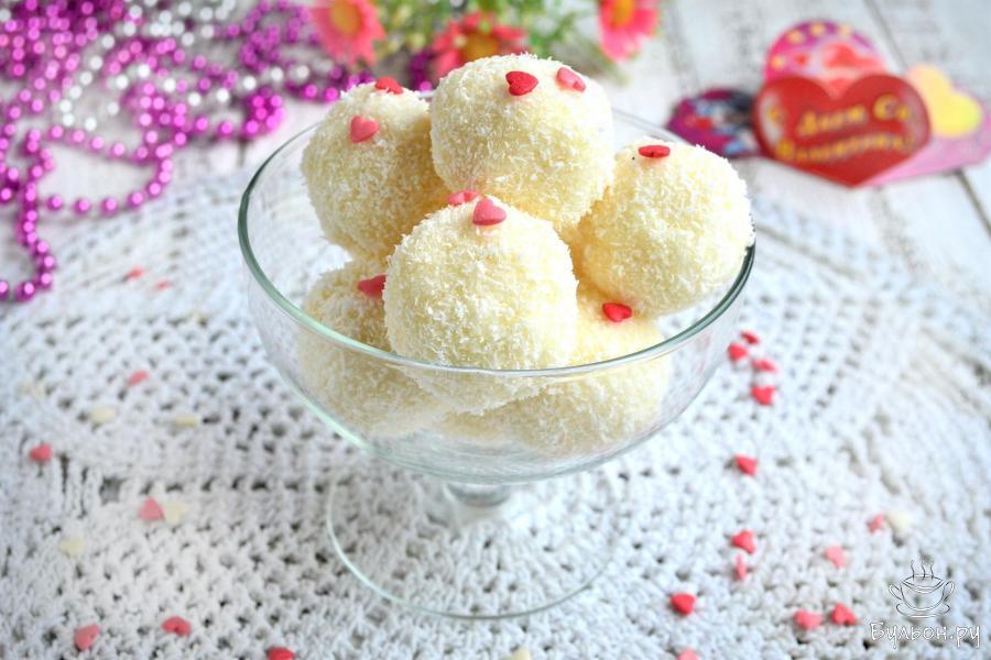 """Домашние конфеты """"Рафаэлло"""" - пошаговый рецепт с фото"""